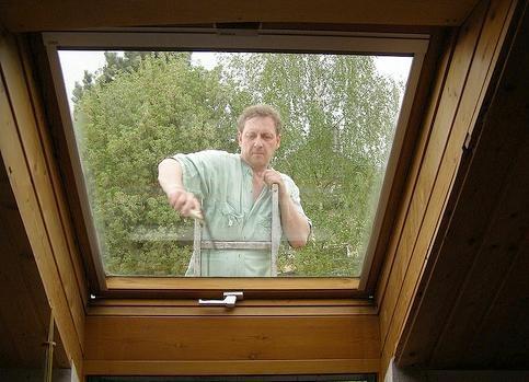 Jak vyčistit rámy plastových oken