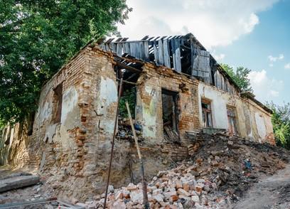 Projekt demolice domu