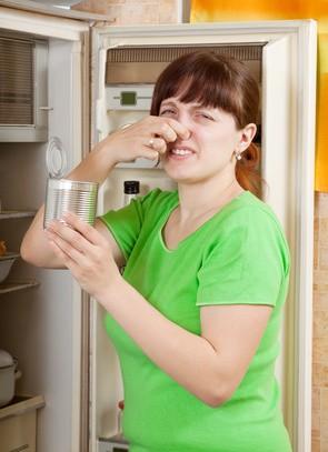 Smrad v lednici