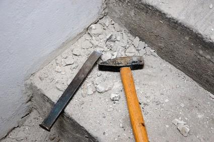 Oprava zvětralého betonu
