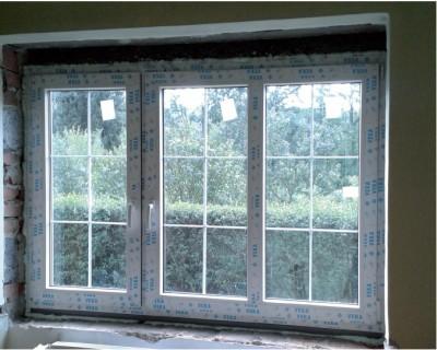 Plastová okna s mřížkou