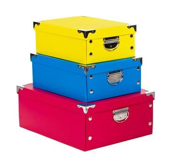 Praktické úložné boxy nahradí skříně a přidají interiéru na ...