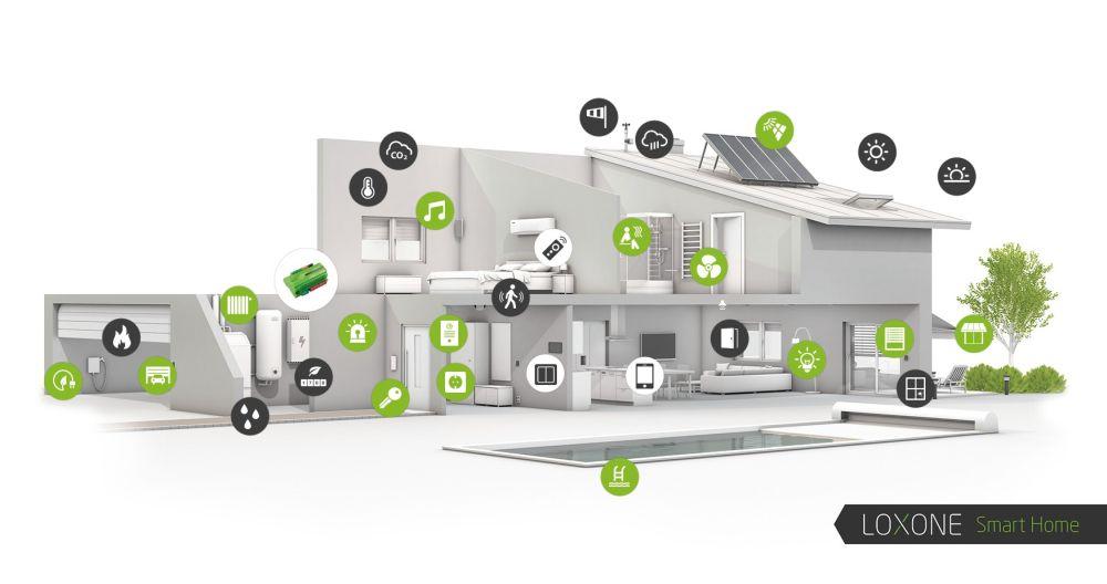 Bezpečný chytrý domov Smarteon. Centrum Kaštanova