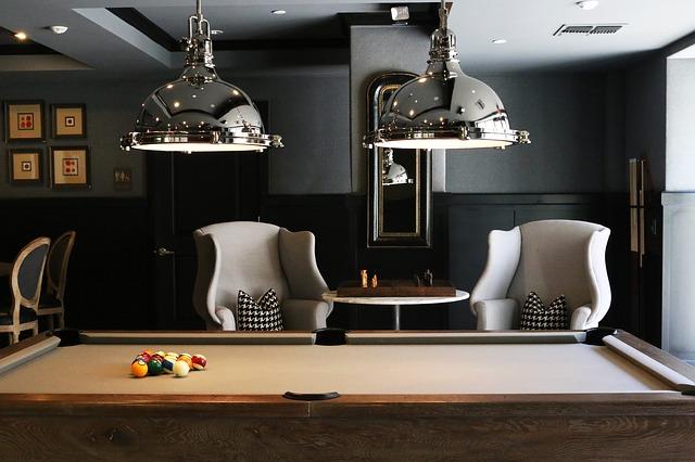 Kulečníkový stůl podtrhne styl moderního interiéru