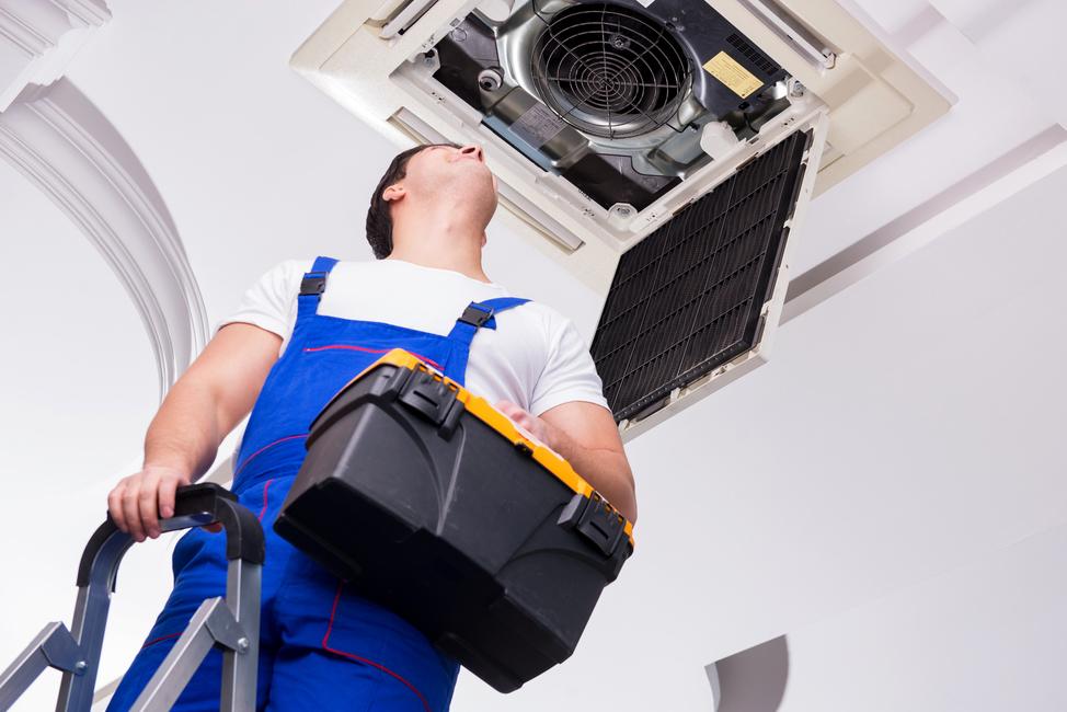 K Multi Split klimatizaci připojíte i stropní kazetovou jednotku