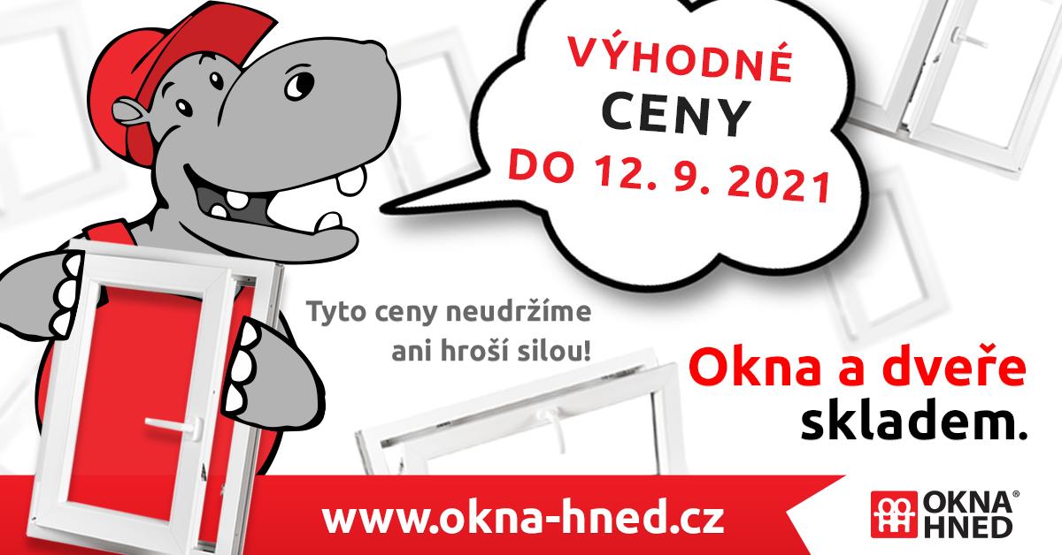 Alt popis: Akční ceny plastových oken pouze do 12.9. na okna-hned.cz