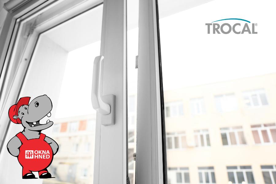 ALT popisek: Plastová okna z německého profilu Trocal skladem na okna-hned.cz