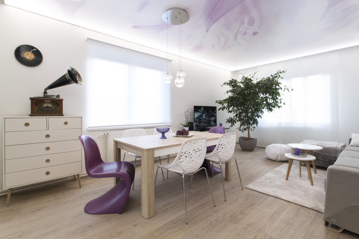 Látkové rolety Varieta se dokonale hodí ke skandinávskému stylu bydlení.
