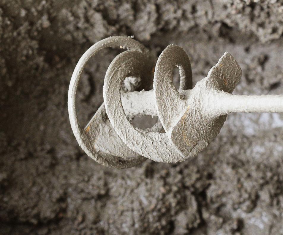 Míchací metly se vyrábí v různých průměrech a délkách