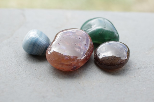 Do hladka vyleštěné kameny vypadají nádherně. Mohou být malé, ale i monumentální