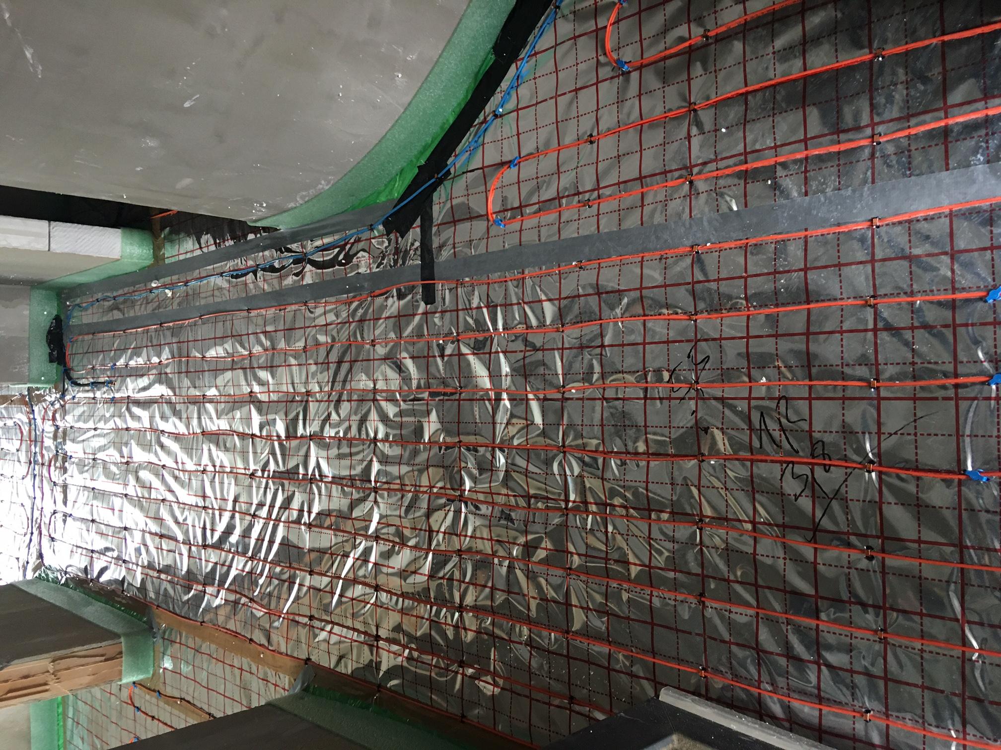 Topné kabely jsou vhodné pro elektrické podlahové vytápění v nepravidelných prostorech.
